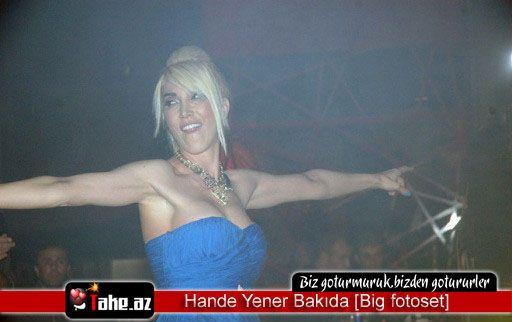 Hande Yener Bakıda [Big fotoset]