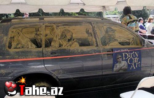 Dirty Car Art [Photo Collection]