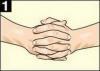 1. Сплетите пальцы рук в замок. Если верхним окажется большой палец левой руки, напишите на листе бумаги букву «Л», если бол...