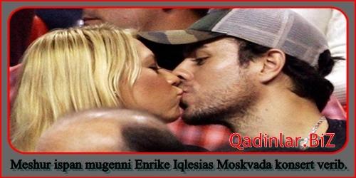 Enrike İqlesias rusiyalı tennisçi ilə evləndiyini etiraf etdi - FOTO