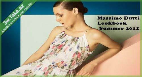 Massimo Dutti LookBook Summer 2011
