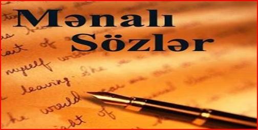 GOZEL SOZLER