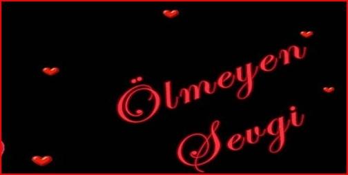 OLMEYEN SEVGI