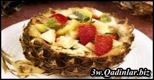 Ananaslı Meyve Salatası (2 Kişilik)