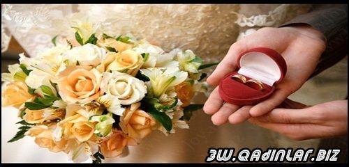 Qadın evlilik təklif edərmi?