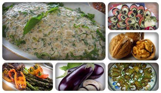 Qozlu Badımcan salatı