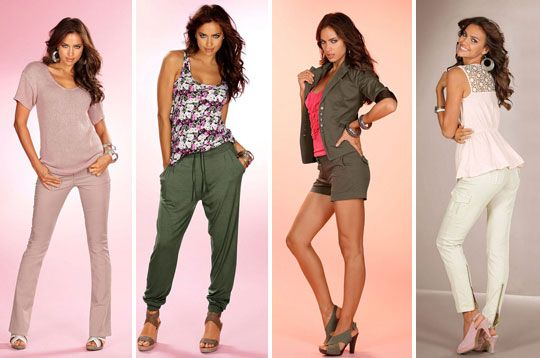 Irina Sheik - Laura Scott Collection 2012