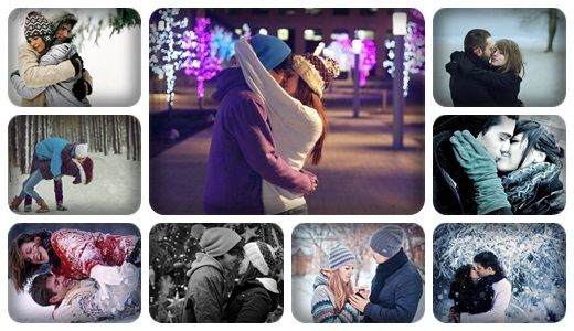 ♥Qışda sevgi bir başqa olur♥