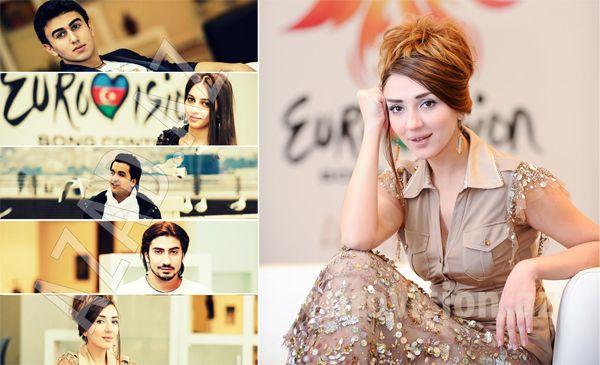 """Azərbaycanı """"Eurovision-2012""""də  Səbinə Babayeva təmsil edəcək [FOTO]"""