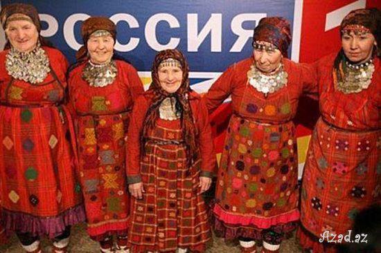 Rus nənələr dünyanı fəth edir..