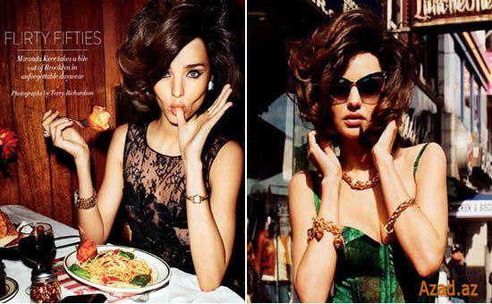 Miranda Kerr Harper's Bazaar US Aprel -2012