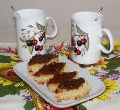 Şərbətli - portağallı keks