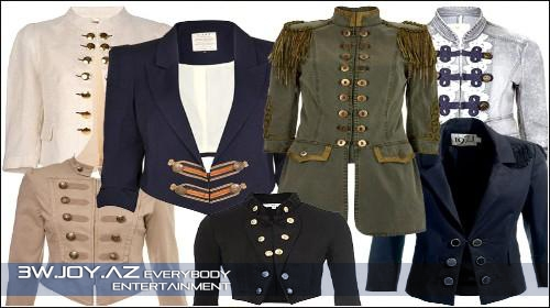 Yeni Moda: Military trend