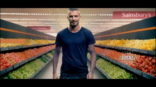 David Beckham Paralimpiya'nın reklam çarxında