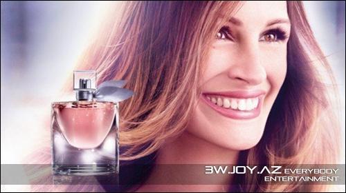 Julia Roberts ətir reklamında