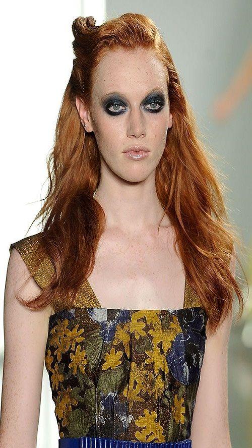 2013-ün ən dəbdə olacaq qızıl-qırmızı saçları