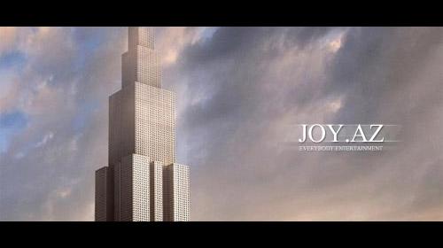 838 metrlik bina 7 ayda bitəcək