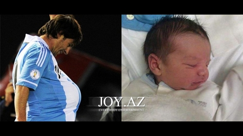 Messi Ata oldu