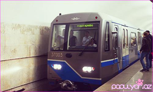 Bakı metrosunda yeni tipli vaqonlar sınaqdan keçiriləcək - [Şəkil]