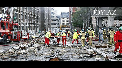 Norveçdə dəhşətli terror anı ilk dəfə yayımlandı
