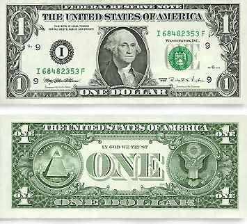 1 dollarlıq kağız pul ləğv edilir