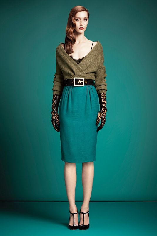 Gucci pre-fall 2013 kolleksiyası (1-ci hissə)