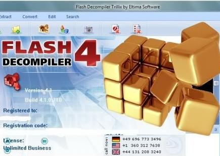 Flash Decompiler Trillix 4.0.0.700 + crack (Русская версия)