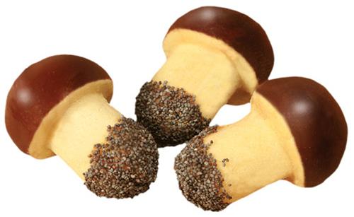 Рецепт - Печенье «Грибочки»