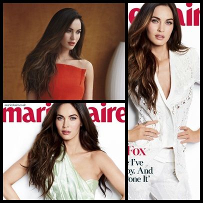 Megan Fox for Marie Claire UK