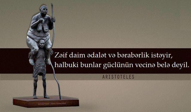 Məhşur aforizmlərdən şəkilli sitatlar - AFORİZM