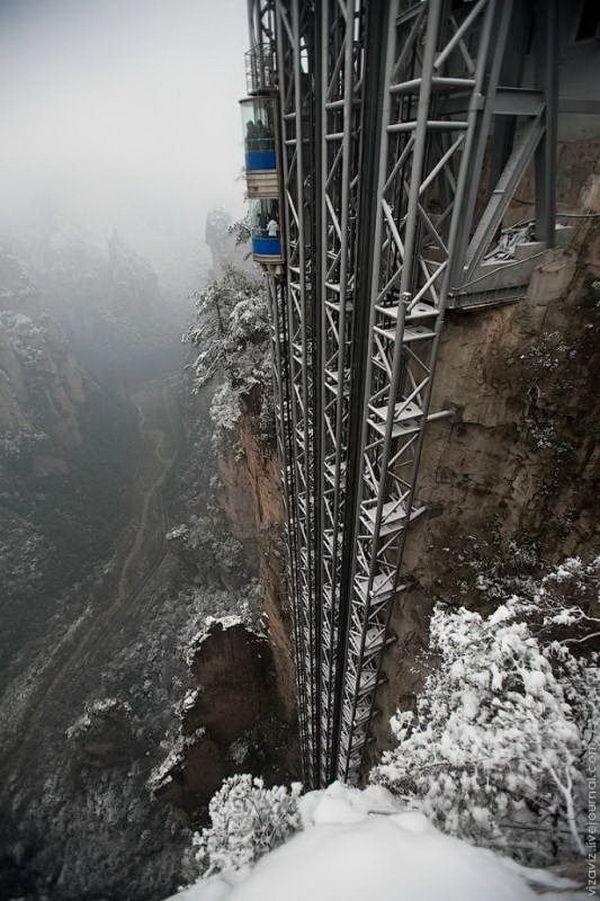 Dünyanın ən hündür lifti