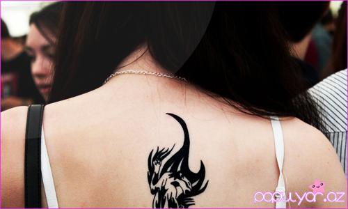 Pişik Tatuajları şəkillər