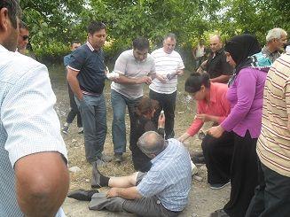 Qubada 10 nəfərin yaralanması ilə nəticələnən agır yol qəzası baş verib.FOTOLAR
