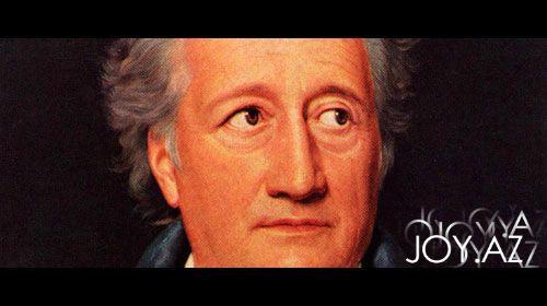 Johann Wolfgang von Goethe aforizmləri