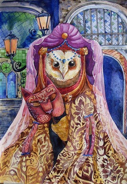 Какая ты волшебная сова - Тридевятое Царство