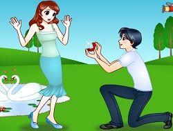 Romantik Evlənmə Təklifi
