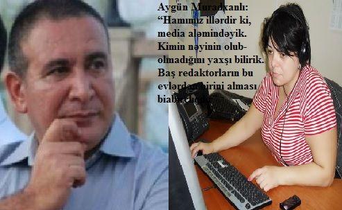 Xanım jurnalist Rəşad Məcidi yıxıb-sürüdü