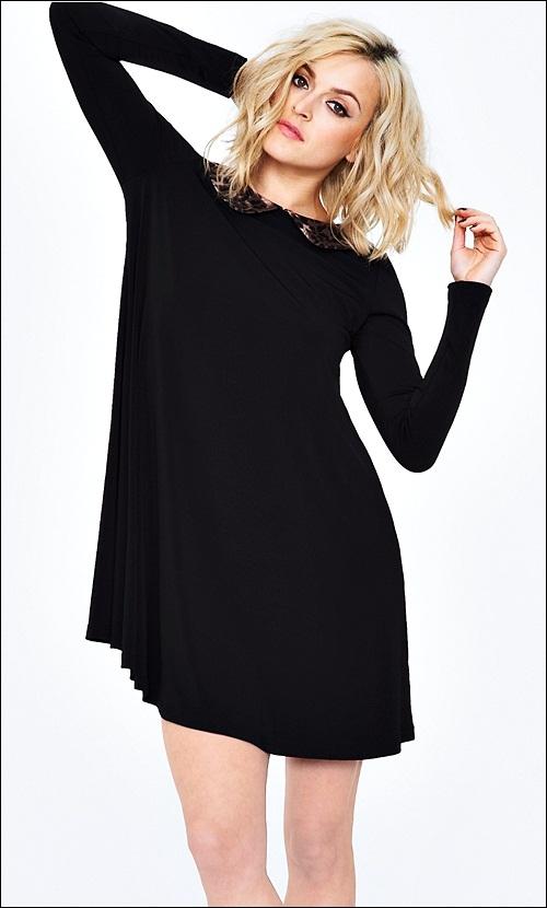 Klassik moda – Qara gecə paltarı
