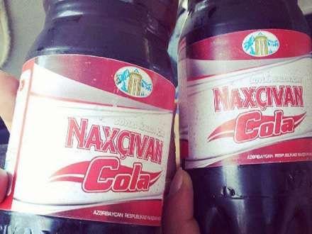 """Vasif Talıbov öz """"Coca-cola""""sını yaratdı: """"Naxçivan Cola"""" (FOTO)"""