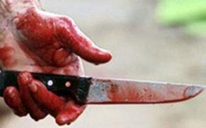 Bulvarda camaata bıçaq çəkən həbs olundu