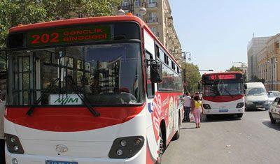 Bakıda bu avtobuslar pulsuz işləyəcək (SİYAHI)