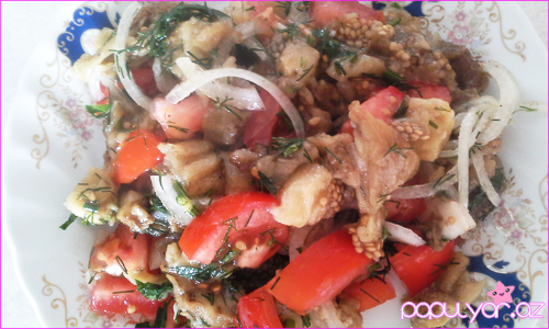 Badımcan salatı