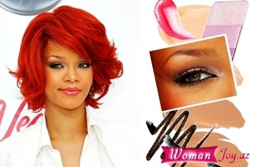 Rihannanın makiyajı