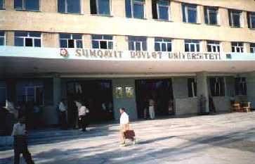 Sumqayıt Dövlət Universitetində vəzifə davası