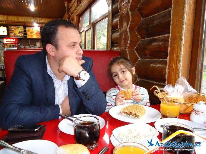 Aynur Qurbanqızı: Qızımı xilas etmək üçün boşandım (fotolar)