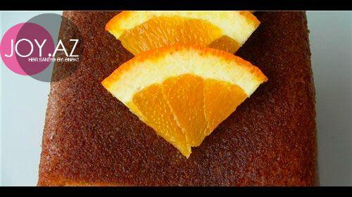 Portağallı keks