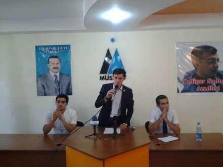 Müsavat Gənclər Təşkilatı yeni lideri