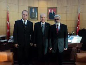 Mirmahmud Mirəlioğlu Dövlət Baxçalı ilə görüşdü