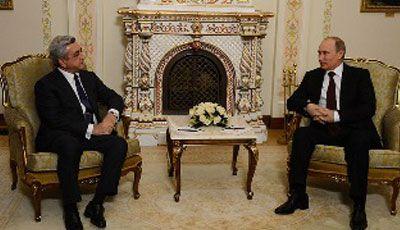 Sarkisyanla Putin Azərbaycanda keçiriləcək prezident seçkilərindən danışacaqlar