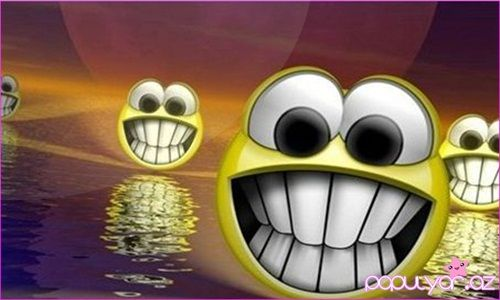 Gülüş ömrü uzadır :)